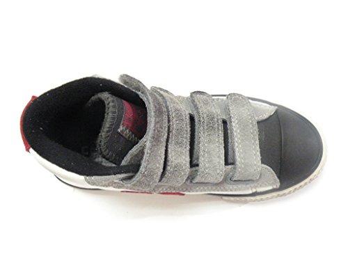 Converse , Jungen Sneaker Weiß Bianco White/Grey Dust Iron
