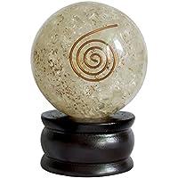 Crocon Bergkristall klar Reiki Healing Energetische Kristall Kugel Ball für Chakra Balancing Aura Cleansing &... preisvergleich bei billige-tabletten.eu
