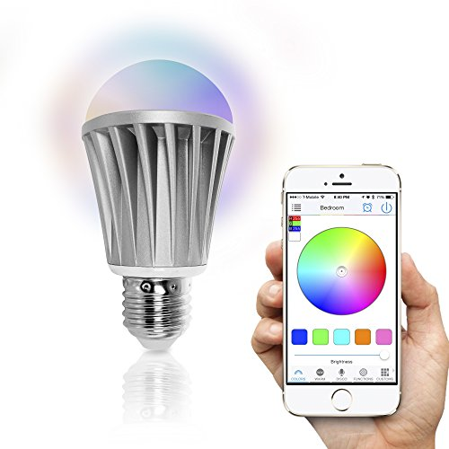 Flux Bluetooth Smart Bombilla LED - smartphones controlado regulable multicolor Luces que cambian de...