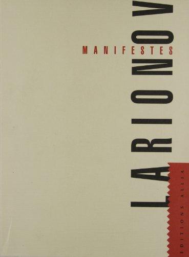 Manifestes par Mikhail Larionov