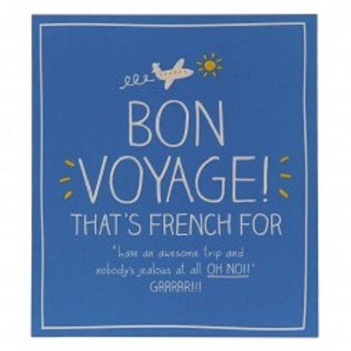 Bon Voyage Card Amazon Co Uk