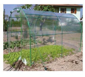 Verdemax Premium Invernadero Túnel, Verde Agua, 200 x 300 x 180 cm