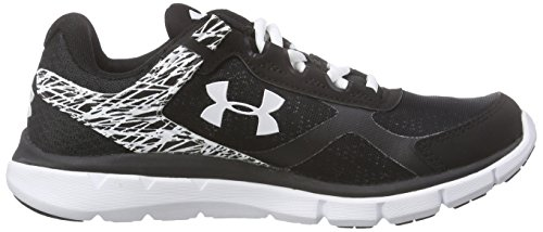 Under Armour Ua W Micro G Velocity Rn, Chaussures de Course Femme Noir (Black)