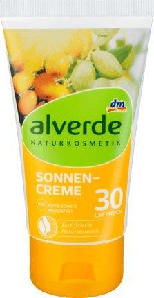 alverde NATURKOSMETIK Sonnencreme LSF 30, 75 ml, vegan