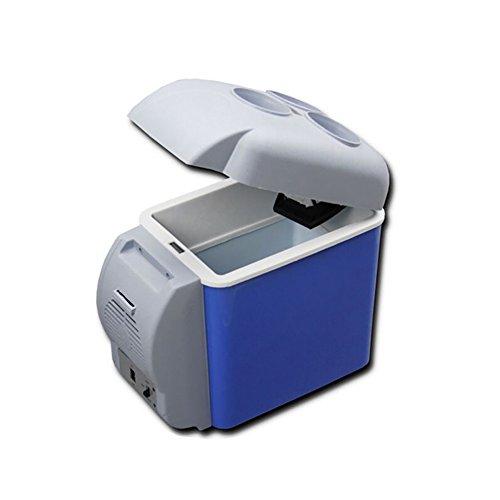 DULPLAY Refrigerador del Coche Mini,Inicio Viaje Refrigerador congelador Calentador Portable Electric Car...