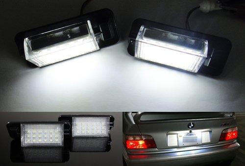 2x Luffy LED Lizenz Kennzeichenleuchte Kit weiß CanBus 90-983-Serie E36M3
