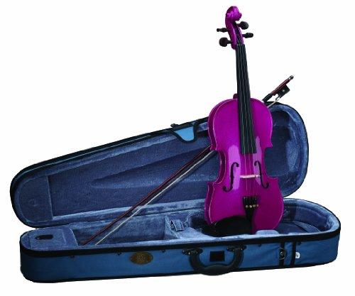 Set violino Stentor Harlequin-Rosa della lampone 4/4(preparato)
