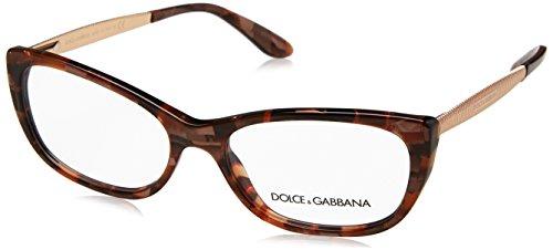 Dolce & Gabbana Damen 0DG 3279 3131 51 Sonnenbrille, Gold (Cube Bronze)