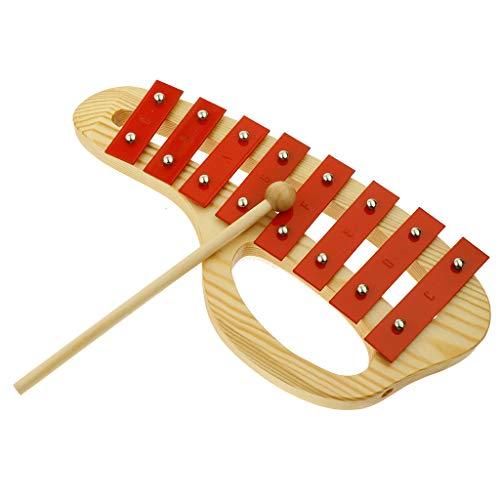 Homyl Xilofono Battenti Legno Tastiere Fabricaldo Per Strumenti Musicali Legno Leggero