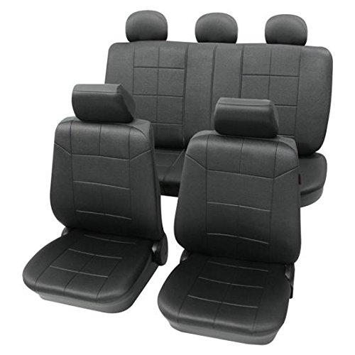 Petex 22574901_5518 Luxury Dark Grey Washable Seat Covers