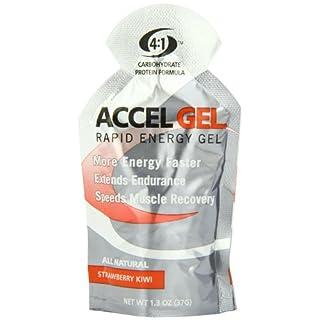 Accel Gel Rapid Energy Gel, Strawberry Kiwi, 24 pack