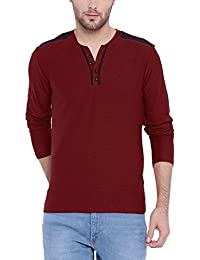 ARISE Regular Fit Round Neck Sports T-shirt For Men - Casual Men's Tees - Red