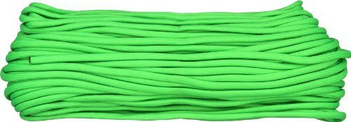 Parachute Cords 1023H 100ft. Length Lime Green by Parachute Cord