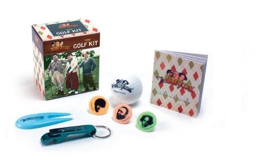 The Three Stooges Golf Kit (Mega Mini Kits) (Golf Three Stooges)