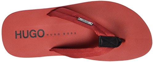 Hugo Nomman 10173545 01, Sandales Homme Rouge (Medium Red)
