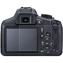 2 piezas de cristal templado óptico de cristal duro de pantalla de protección de la película cubierta de piel para Canon EOS 5D marca II 5D3 cámara digital