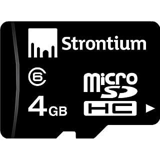Strontium 4 GB Micro SDHC Class 6 Memory Card