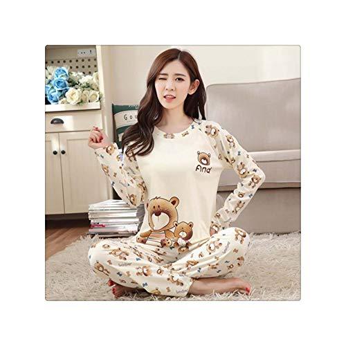 Autumn Girl Home Winter Pajama Set Woman Clothes Plus Size Loungewear Sexy Lingerie Sleep Wear Milk Silk Pajamas for Women Shows4 M