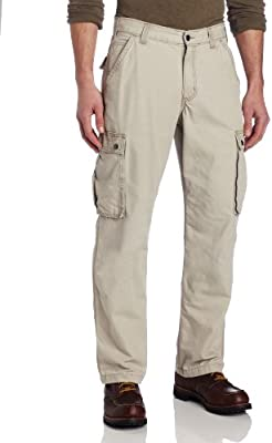 Carhartt Men's Rugged Cargo Pant Relaxed Fit,Tan,30W x 30L
