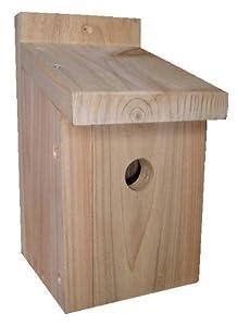 BIRD BOX 28mm CEDAR