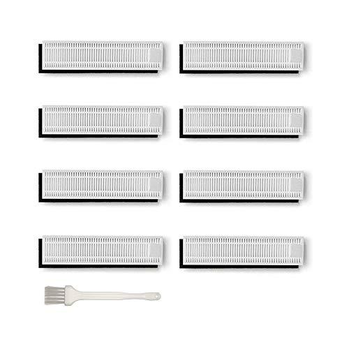Filter Hepa Ersatzteile für Ecovacs Robotics Deebot Slim / Slim2, Zubehör-Set, 8 Paare -