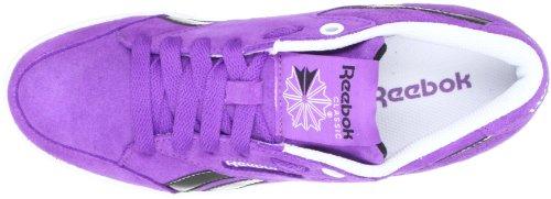 Reebok FABULISTA J8590, Sneaker donna Bianco (Weiss (MAJOR PURPLE/WHITE/B))