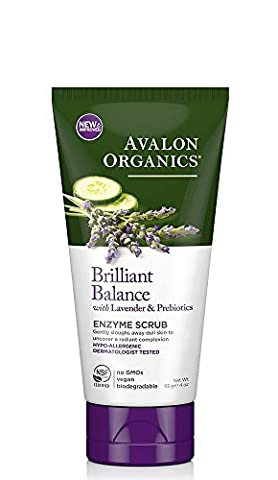 Avalon Organics - Lavender Luminosity - Exfoliating Enzyme Scrub -