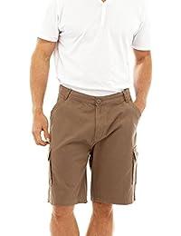 Chaussettes unies pour homme Coton Twill Short Cargo