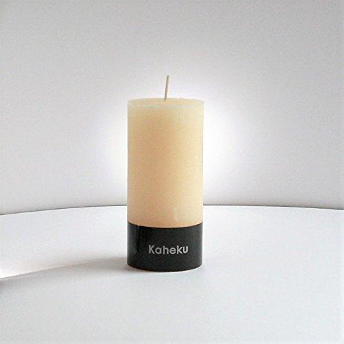 Kaheku Kerze 7x15cm elfenbein, Cylinderkerze