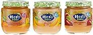HERO BABY Food Jar Assorted, 125g, Pack of 3