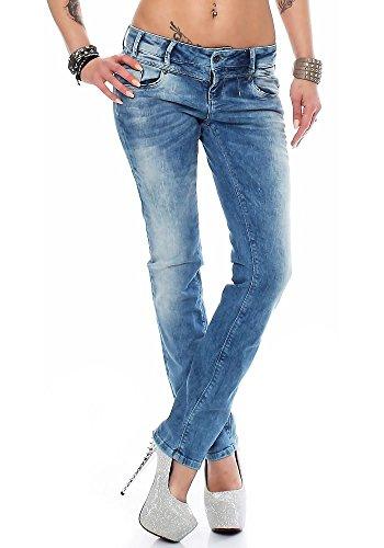 M.O.D Damen Jeans Rea Straight Leg forever blue 31/30