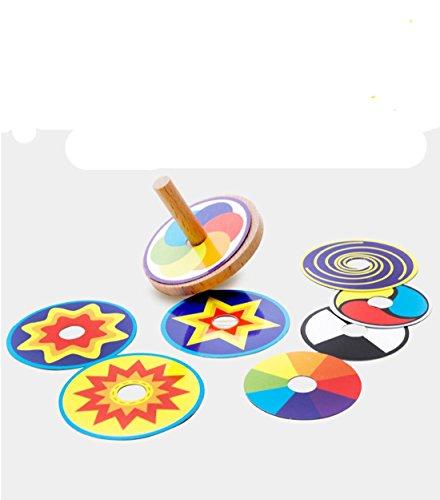 WANJU LDD - hölzerne kreative Puzzlespiel-Spielwaren traditionelle hölzerne Spielwaren Spaß und Spaß Vielzahl-Kreiselkompaß