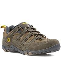 Hi-Tec - Zapato urbano acordonado, gris pardo, para hombre Hi-Tec