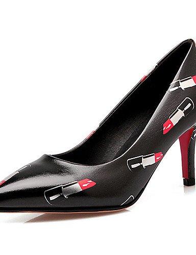 WSS 2016 chaussures talon aiguille talons des femmes / nouveauté / talons bout pointu mariage / fête&soirée / dressblack / bleu black-us8.5 / eu39 / uk6.5 / cn40