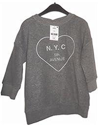 N.Y.C 5TH AVENUE de chez Next sweat shirt SANS capuche pull 4/5 ANS