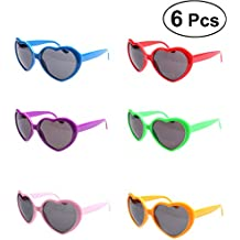 Amazon.es: gafas corazon - 5-7 años