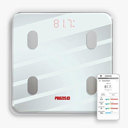 Prozis Neo Smart Scale & GO APP - Verfolge Deine Sport-Performance, Statistiken und Deine Progresse