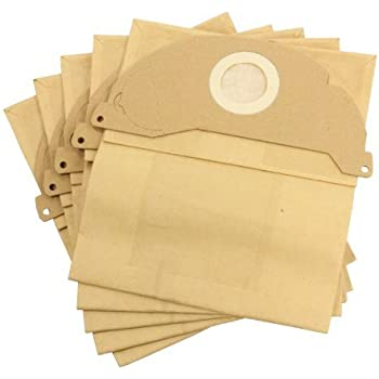 Double Layer Micro Filtration Dust Bags for Karcher Vacuum Cleaners 20 Pack