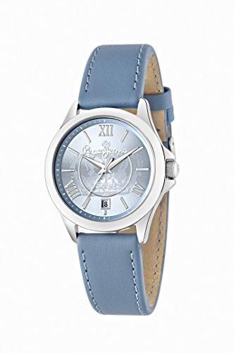 Pepe Jeans Katy del vestido de las mujeres de cuarzo reloj de Hombre con esfera azul y el azul de la correa de cuero R2351114502