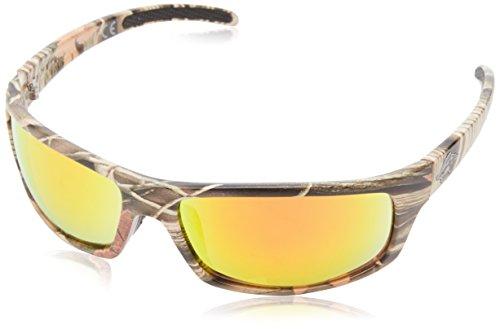 Anarchy Men's Skeptical Wrap Sunglasses,Camo,62.5 mm