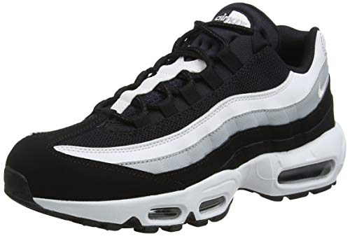 timeless design 5d318 6c1b8 Nike Air Max 95 Essential, Chaussures de Running Homme, Multicolore (Black  White