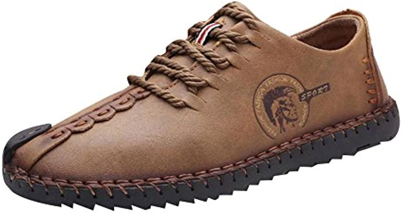Cheyuan Herren Freizeitschuhe   Bequeme Halbschuhe Leder Schuhe Low Top Sneakers Slip on Lässige Leder LoaferCheyuan Herren Freizeitschuhe Halbschuhe Sneakers