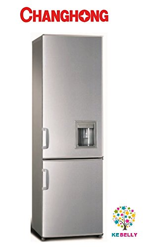 frigo combinato 300 litri changhong inox con dispenser ...
