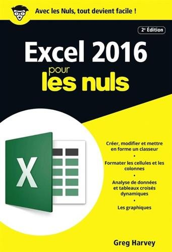 Excel 2016 pour les Nuls par From First Interactive