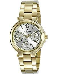 Daniel Klein Analog Gold Dial Women's Watch-DK10808-3
