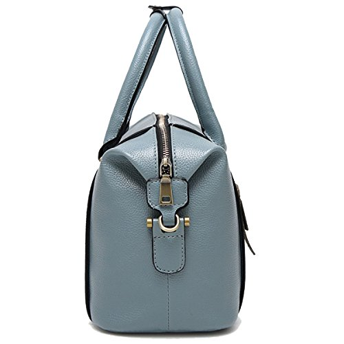 Frauen Handtasche Schultertaschen Taschen-Handtasche Messenger Umhängetasche Multicolor Blue