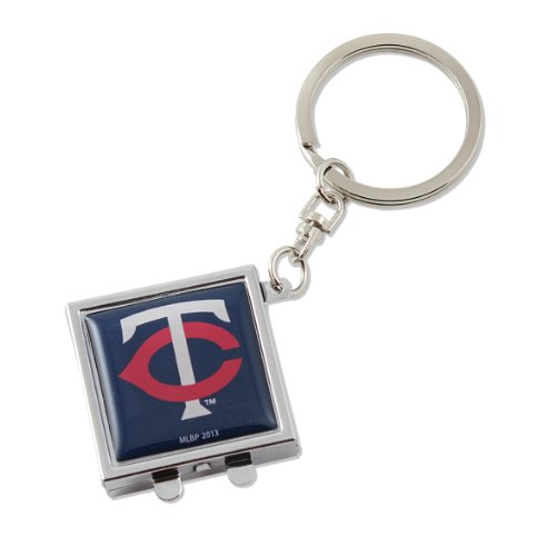 Minnesota Twins Kompakt-Spiegel Schlüsselanhänger Minnesota Twins-ausrüstung