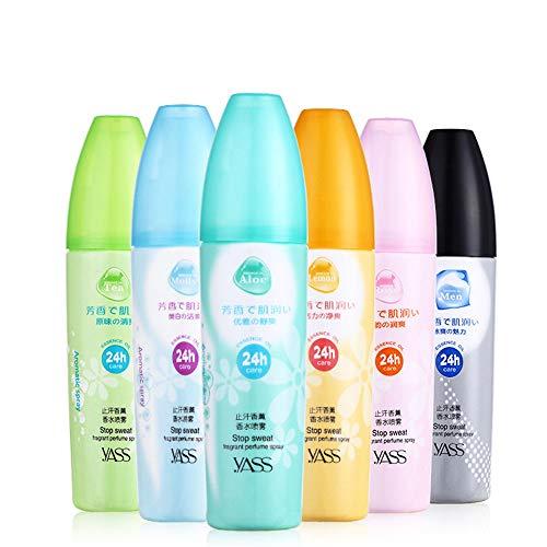 TRENTA Körperspray Parfüm-Körperspray für Frauen Langlebiger, natürlich frischer Duft, 60 ml (6 verfügbar) -