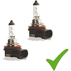 Pratique Double Set. (Prix de base: 5EUR/Stk) 2x H1112V 55W Pgj19-2ampoules Phare Ampoule halogène Lampe de lampe de voiture