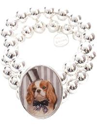 Marc Labat - 12H39 - My Little Pets - Bracelet Femme - Métal - Email - 21 cm